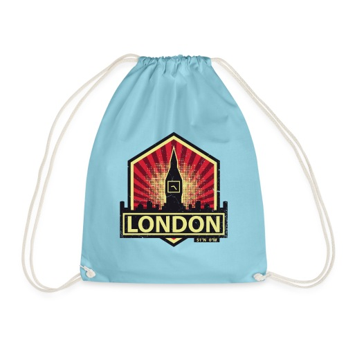 London, England - Drawstring Bag