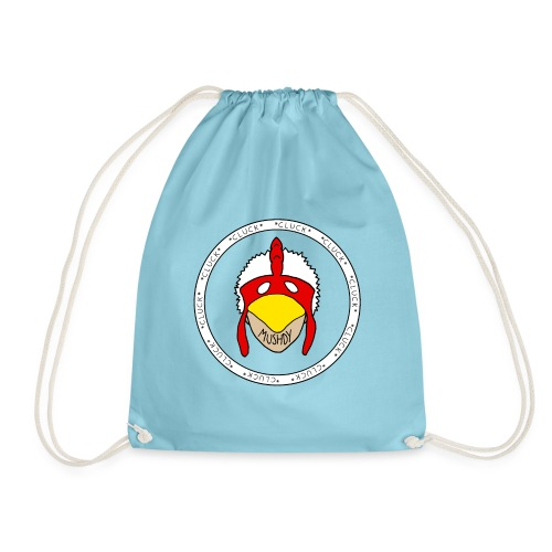 The Ring Of Cluck - Drawstring Bag