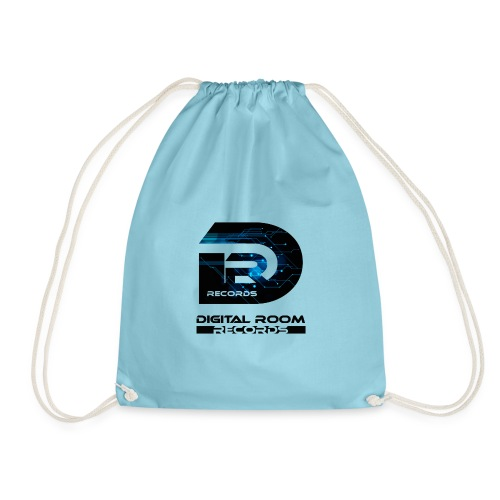 Digital Room Records Official Logo effect - Drawstring Bag