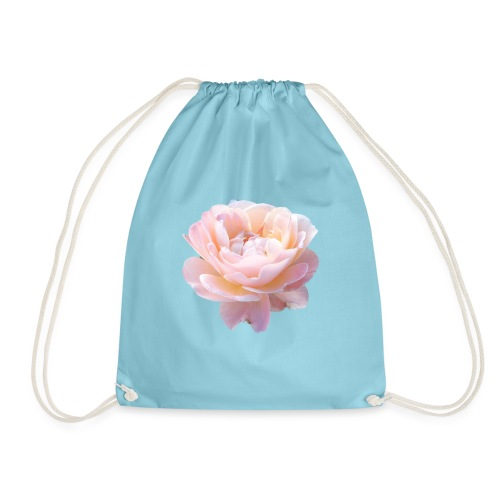 A pink flower - Drawstring Bag