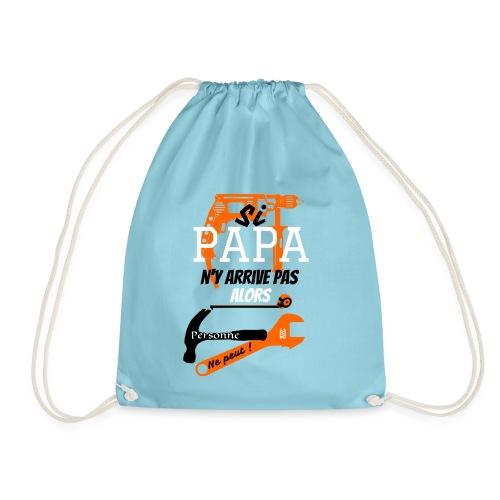 Papa super bricoleur by FunriesOne - Sac de sport léger