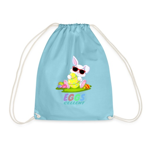 Cute Easter Hunt Gift - Drawstring Bag