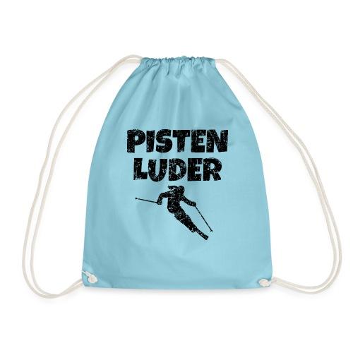 Pistenluder (Vintage/Schwarz) Apres-Ski - Turnbeutel