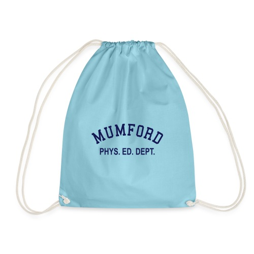 mumford phys ed - Drawstring Bag
