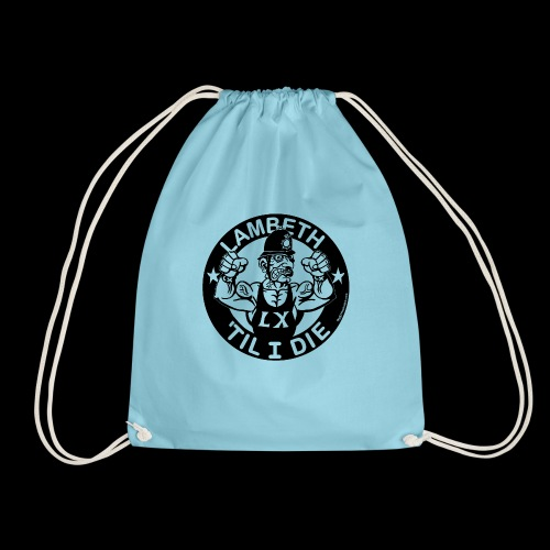 LAMBETH - BLACK - Drawstring Bag
