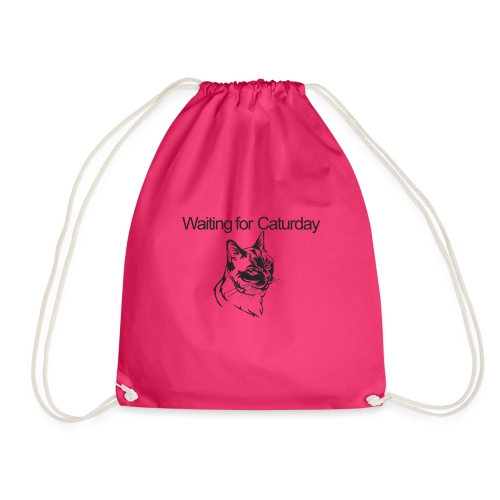 Caturday - Drawstring Bag