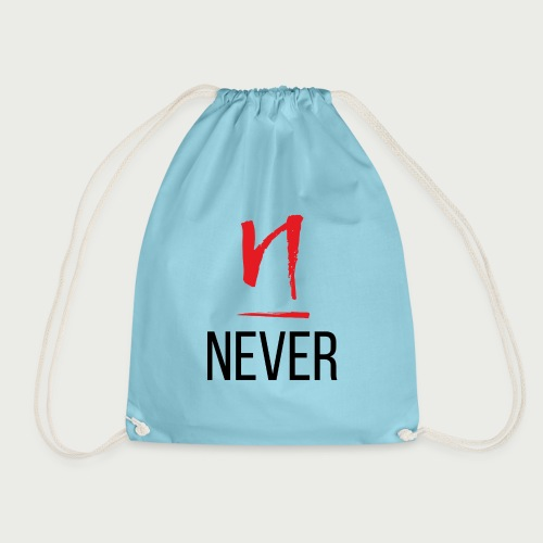 Never Give Up - Deundria Clark - Drawstring Bag