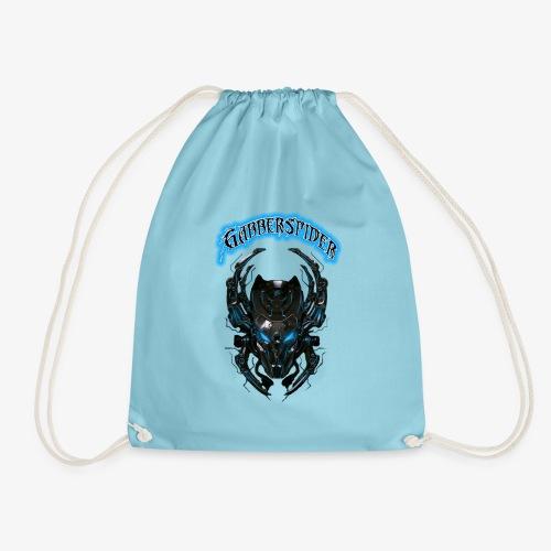 Gabberspider blue - Drawstring Bag