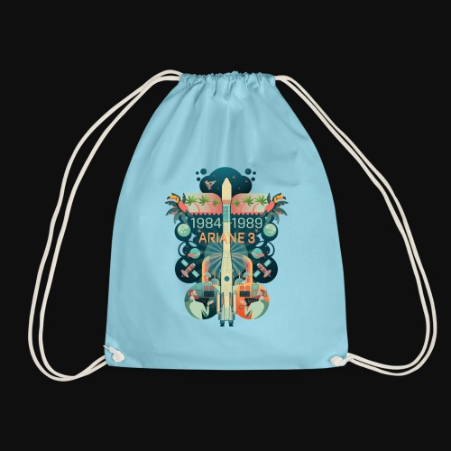 Ariane 3 - Dream of the Moon - Drawstring Bag