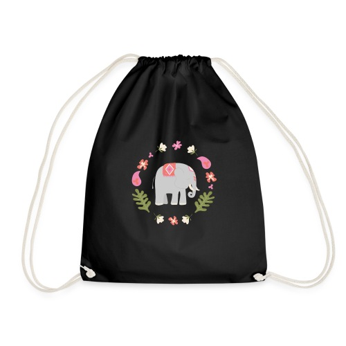 Indian elephant - Sacca sportiva