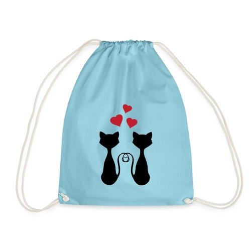 Gatos Enamorados - Mochila saco