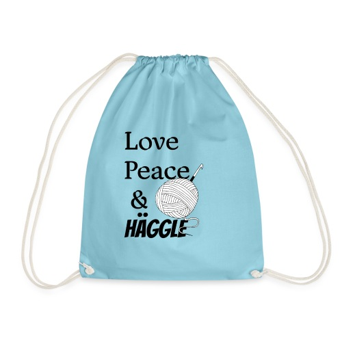 Love Peace & Häggle - Turnbeutel