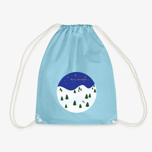 boule Noël bleue - Sac de sport léger