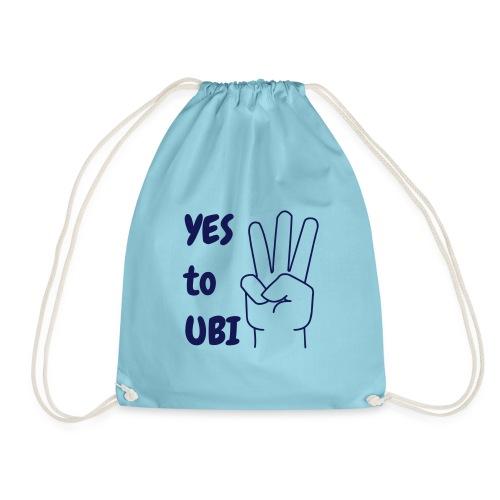 Yes to UBI - Drawstring Bag
