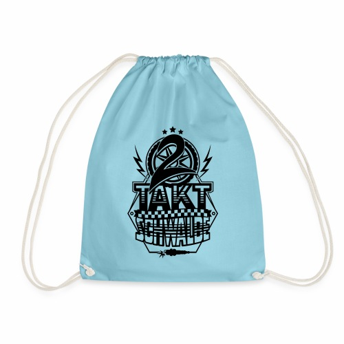 2-Takt-Schwalbe / Zweitaktschwalbe - Drawstring Bag