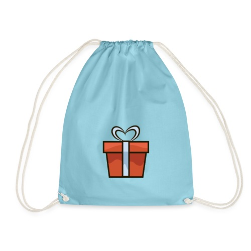present, presents, happy new year, 2019 - Drawstring Bag
