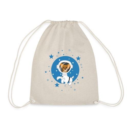 Kleiner Hund im Weltall - Turnbeutel