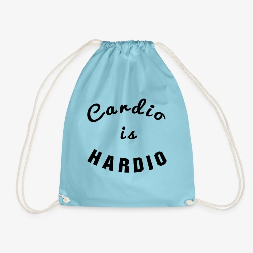Cardio is Hardio - Drawstring Bag