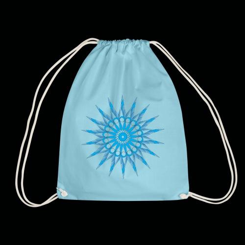 Mandala Blau - Turnbeutel