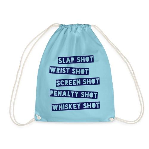 Hockey Shots - Drawstring Bag