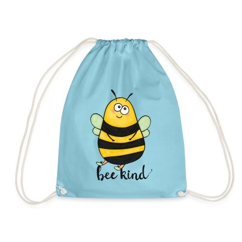 Bee Kind - Drawstring Bag