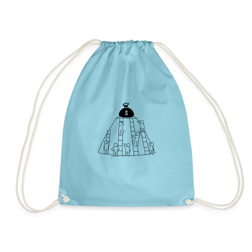 To The Top! - Drawstring Bag