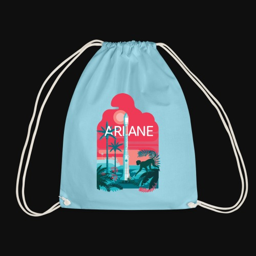 Ariane 2 - Mysterious jungle - Drawstring Bag