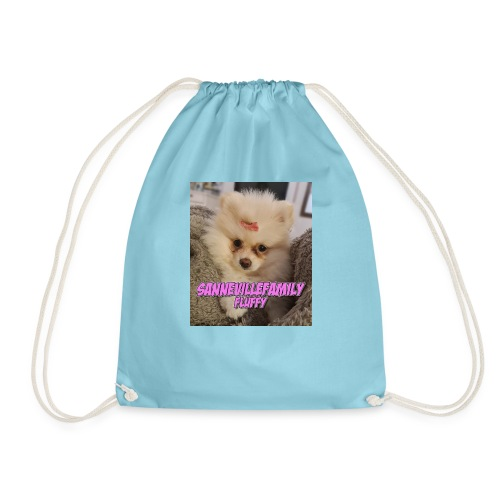 Print med den sødeste SanneVilleFamily Fluffy - Sportstaske
