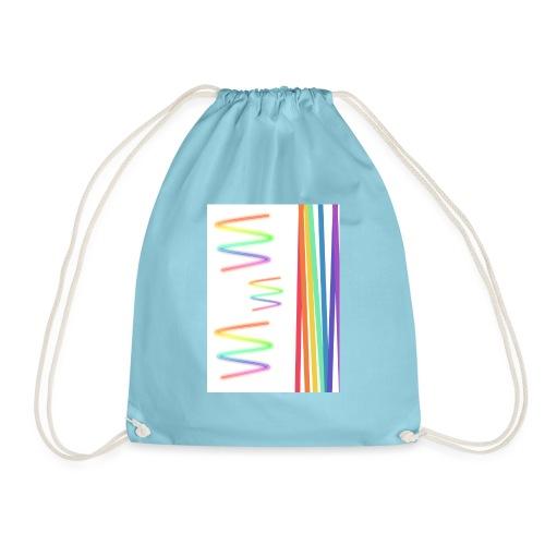 Lineas coloridas - Mochila saco