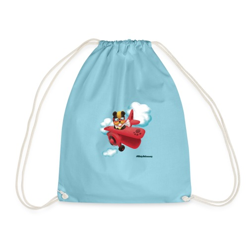 Bearplane - Drawstring Bag