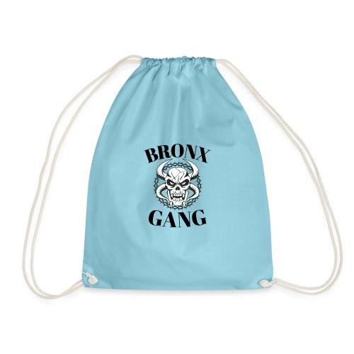bronx gang skull new-york - Sac de sport léger