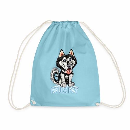 Pequeño Husky - Mochila saco