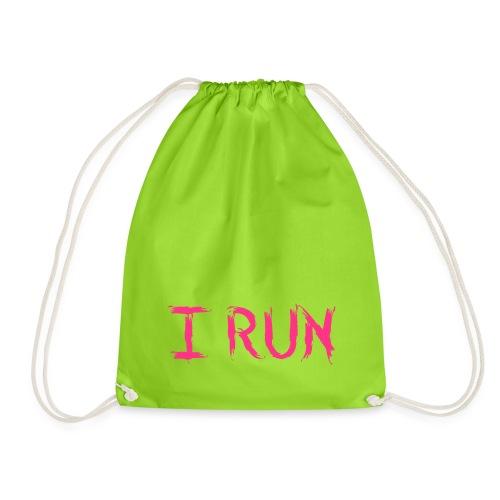 I Run - Turnbeutel