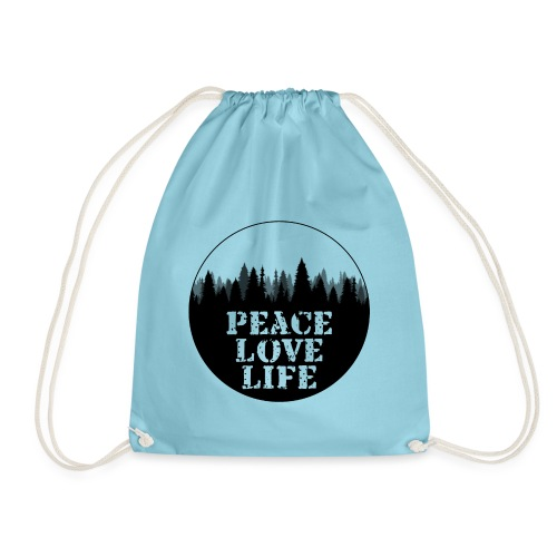 Peace Love Life - Turnbeutel