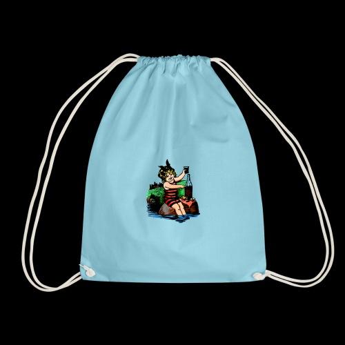 Ready to go shopping - the mask - Drawstring Bag