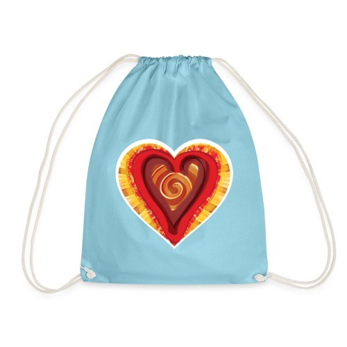 Chocolat love - Drawstring Bag