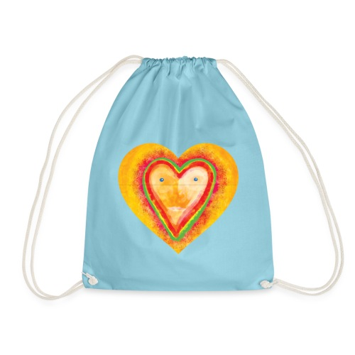 Heartface - Drawstring Bag