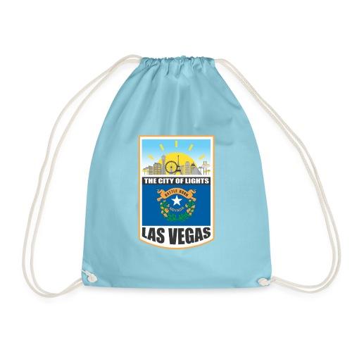 Las Vegas - Nevada - The city of light! - Drawstring Bag