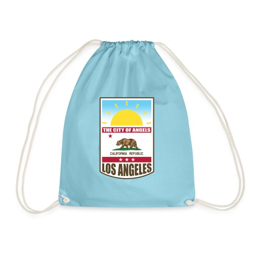 Los Angeles - California Republic - Drawstring Bag