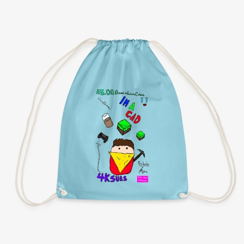 Jumbo Fan Art Winner! - Drawstring Bag