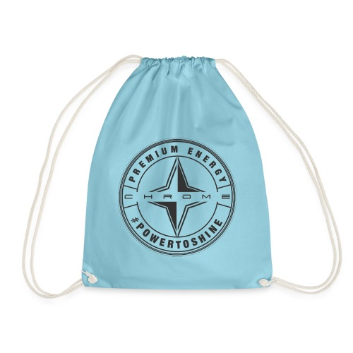 Chrome Energy Drink Icon - Drawstring Bag