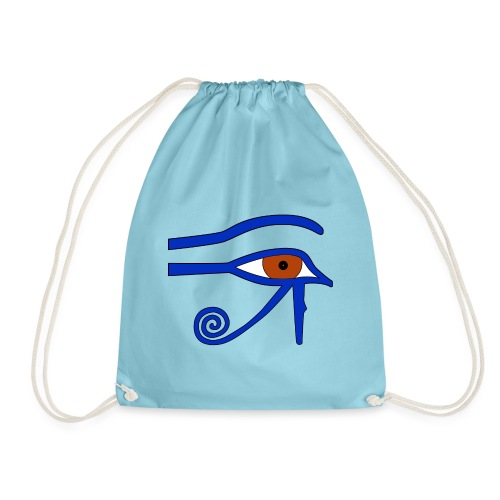 Ägyptisches Udjatauge - Turnbeutel