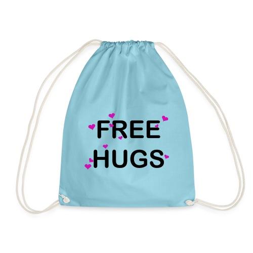 Free HUG Coeur Rose - Sac de sport léger