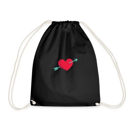 Corazón atravesado por una flecha - Mochila saco