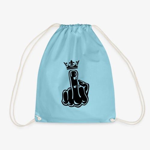 46 Stinkefinger Krone Middle Finger Crown - Turnbeutel