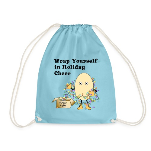 Holiday Cheer Christmas Lights - Drawstring Bag