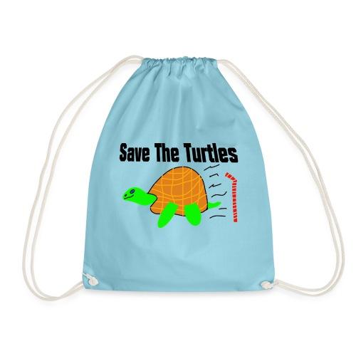 save the turtles - Gymbag