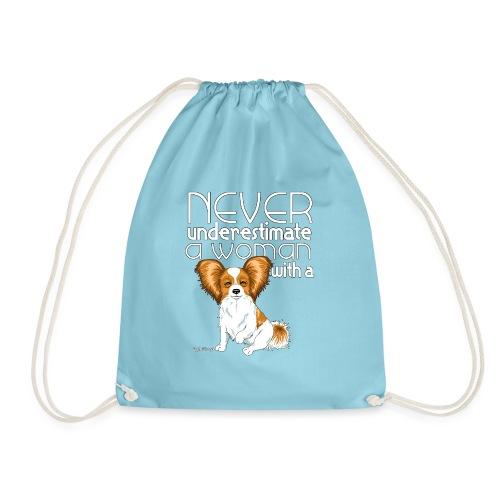 papiunderestimate2 - Drawstring Bag