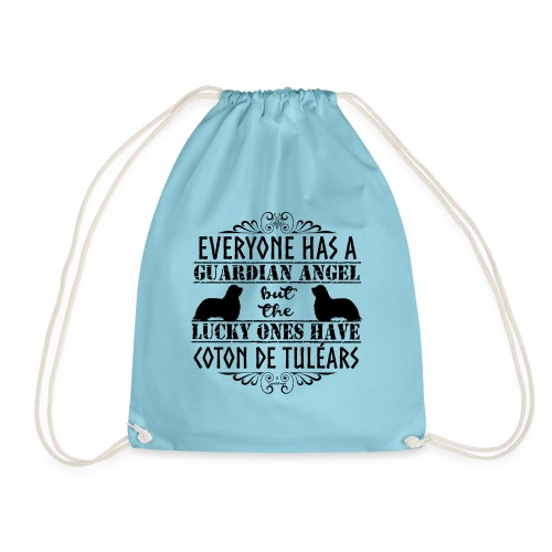 Coton De Tuléar Angels3 - Drawstring Bag