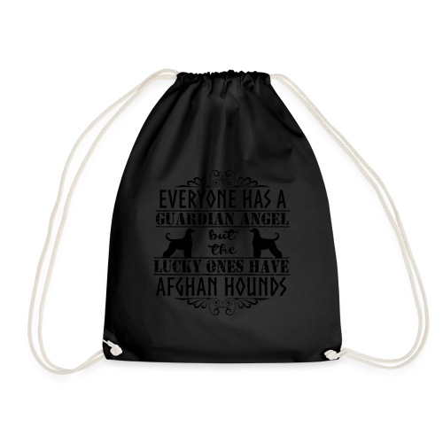 Afghan Hound Angels - Drawstring Bag